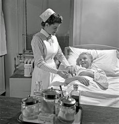 History in Photos: Nurse Training. Student nurses, like Susan Petty of Lebanon, Pennsylvania, are rendering their country a great service by making it possible for experienced nurses to join the Army or Navy Nurse Corps. Relieved of such civilian duties as administering injections to patients like this smiling youngster, graduate nurses are tending America's fighting men in distant parts of the world.