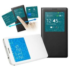S-View Chip Ultrathin PU Leather Cover Case Flip for Samsung Galaxy Note 3