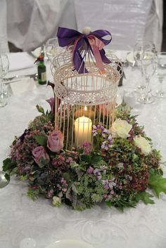 Flower Design Events: A Sneaky Peek at Victoria & Matt's Autumn Purple Wedding at St Walburge's Preston & The Woodland's Suite at Ribby Hall