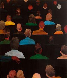 Ryan Mrozowski (American, 1981) Stack II, 2012 Acrylic on canvas over panel, 26 x 22.25 in.