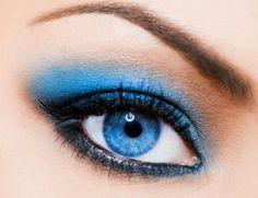 Make-up voor blauwe ogen