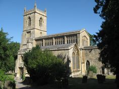 Church of England, St Mary the Virgin, Chipping Norton, Oxfordshire, England. St Mary's is one of the largest of the Cotswold churches funded the medieval wool trade. It was mostly rebuilt in the 15th century and is a Grade I listed building. It has one of only three medieval hexagonal porches in England.