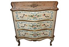 Antique Painted Chest of Drawers ($2,499.00/$3,800.00 estimated market value)
