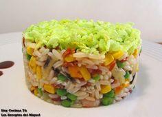 Hoy Cocinas Tú: Ensalada de arroz en dos texturas