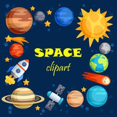 Space clipart. Space clip art. Outer space. Outer space clipart. Planet clipart…