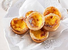 Baked vanilla tarts: The greased patty-cake tins can be lined with pastry up to seven hours before filling with custard and baking. Cover with plastic wrap and store in the fridge.