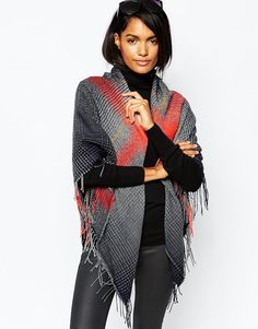 Whistles Oversized Check Blanket Scarf at asos.com. ModeÉcharpe TubeÉcharpe  ... a99b1126307