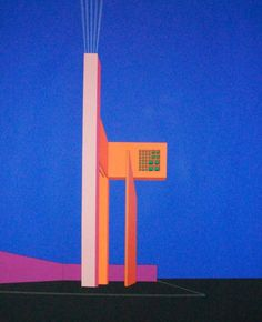 Luis Barragan Conceptual Architecture, Art And Architecture, Paint Designs, Designs To Draw, Palm Desert, Mexican Art, Architectural Drawings, Submission, New Age