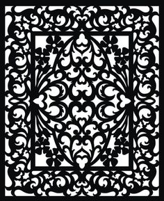 Details About Vectorized Fretwork Pattern