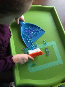 Rockabye Butterfly: Tray Work Bilateral hand use