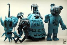 Blue Bronze Series by Keithing