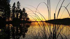 Auringonlasku Näsijärvellä / Sunset, Näsijärvi, Finland