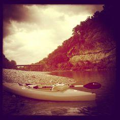 Slow life.....buffalo river