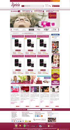 Criação de Interface com usabilidade para loja virtual no ano de 2013 para o E-commerce Karicia.
