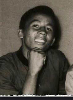 a young Bob Marley...