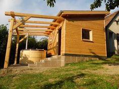Kerti faház építés, ház fából, kültéri szauna építése, egyedi szauna épí...