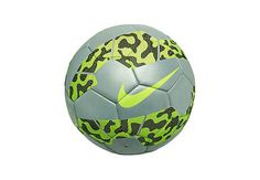 Nike Reflective Soccer Ball - Chrome and Volt