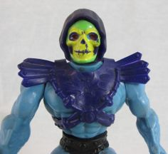 Skeletor Action Figure 1981 Mattel He-Man Masters of the Universe MOTU Armor