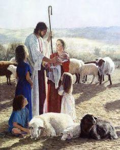 Jesus Christ by Donald Zolan Lord Is My Shepherd, The Good Shepherd, Lds Art, Bible Art, Scripture Art, Jesus Reyes, Paintings Of Christ, Art Paintings, Jesus Our Savior