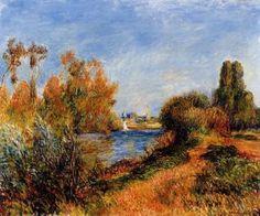 The Seine at Argenteuil - Pierre Auguste Renoir - The Athenaeum