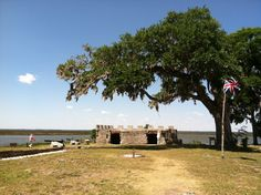 Fort Frederica National Monument is FREE for #NationalParksWeek until April 29th. Come on out and explore the old town and fort.  www.GoldenIsles.com