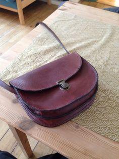 Min nye læder taske ! :)