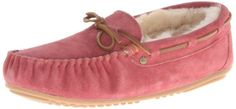 EMU Australia Women's Amity Moccasin -  	     	              	Price: $  79.00             	View Available Sizes & Colors (Prices May Vary)        	Buy It Now      The EMU Australia Amity women's slipper is good choice inside the house. This women's shoe is crafted with classic suede mocasin with vintage lace detail and lined...