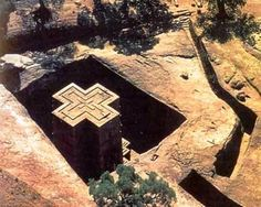 Церковь Святого Георгия – #Эфиопия #Амхара #Лалибэла (#ET_AM) Высеченная в скале церковь http://ru.esosedi.org/ET/AM/1000099906/tserkov_svyatogo_georgiya/