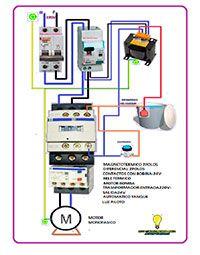 Esquemas eléctricos: Motor bomba monofasico