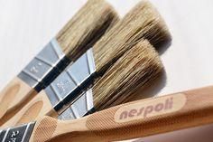 Rodillos para pintar con chalk paint: tipos y diferencias con la brocha