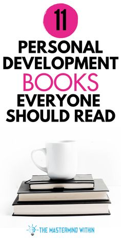Looking for the best personal development books to promote self growth? These 11 personal development and self growth books will help you become your best self! Free Books To Read, Good Books, Personal Development Skills, Books For Self Improvement, Books Everyone Should Read, Learning Techniques, How To Influence People, Financial Literacy, Inspirational Books