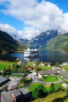 Royal Caribbean in the Norwegian Fjords