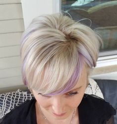 long+blonde+pixie+with+light+purple+highlights
