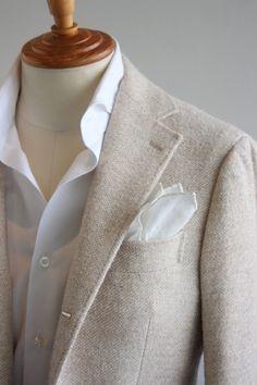 Men of Habit. Blazer Fashion, Suit Fashion, Mens Fashion, Blue Suit Men, Blazers, Suit Accessories, Summer Suits, Raining Men, Casual Blazer