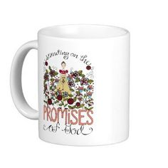 Standing on God's Promises coffee mug. Christian Gifts For Women, Religious Gifts, Gods Promises, Coffee Mugs, Gifts For Her, Fun, Coffee Cups, Promises Of God, Coffeecup