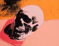 Andy Warhol /Skull 1976