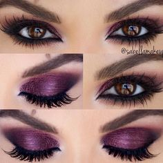 Smokey Eye Makeup Looks for Brown Eyes picture 5 #eyemakeupsmokey #makeuplooks2017 #makeupforbrowneyes