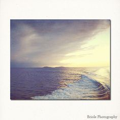 Ocean Sunset Photography 8x10 Fine Art Picture Caribbean by Briole, $30.00