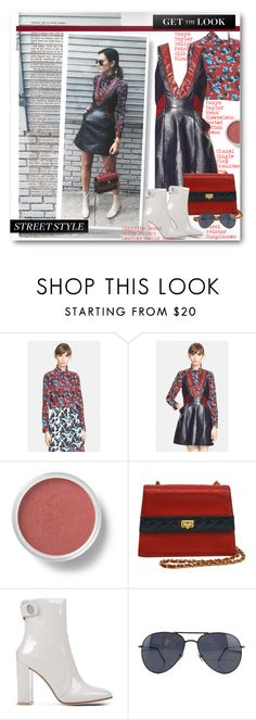 """Get The Look"" by beebeely-look ❤ liked on Polyvore featuring Tanya Taylor, Bare Escentuals, Chanel, Gianvito Rossi, Gucci, GetTheLook, StreetStyle, celebrity and CelebrityStyle"