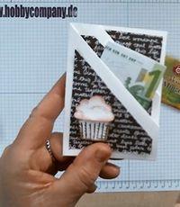 ATC Ideen und Anleitung für eine Geschenkkarte