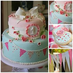 48 New Ideas Birthday Cake Kids Girls Hello Kitty 1st Birthday Cakes, 1st Birthday Parties, Sweet Cakes, Cute Cakes, Bolo Picnic, Tea Party Theme, Girl Cakes, Themed Cakes, Cake Art