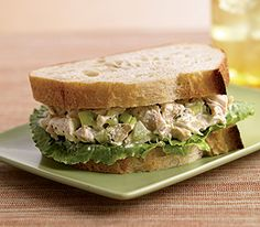 MyPanera Recipe: Chicken Salad Sandwiches.  I think this is the original chicken salad they used to have.  Yum!