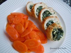 Greek Style Stuffed Chicken (feta, spinach and herbs).