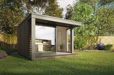 Британская компания Pod Space производит и продаёт сборные небольшие садовые…