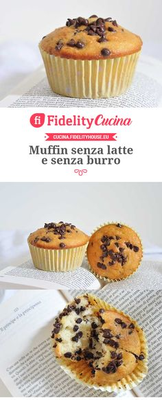 Muffins ohne Milch und ohne Butter - - Flora Barbaria - Pin This Flora, Butter, Lactose Free, Healthy Sweets, Biscotti, Nutella, Sweet Recipes, Breakfast Recipes, Food And Drink