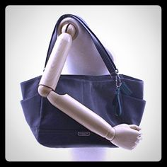 Black leather coach bag Large tote, well-loved & ready to complete your sophisticated work wardrobe Coach Bags Totes