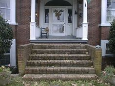 Front Porch Steps | Hartwood Roses: How I Met My House.