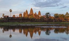 Enchanting archaeological sites, charming colonial towns, hilltop temples and tropical beaches make Cambodia an inviting and cheap getaway for intrepid travellers Laos, Places Around The World, Around The Worlds, Vietnam, Cambodia Beaches, Angkor Wat Cambodia, Thailand Adventure, Tropical Beaches, Beautiful Sites
