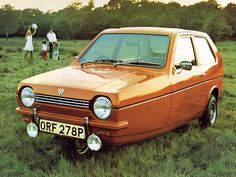Reliant Robin - 1975 Maintenance/restoration of old/vintage vehicles: the material for new cogs/casters/gears/pads could be cast polyamide which I (Cast polyamide) can produce. My contact: tatjana.alic@windowslive.com