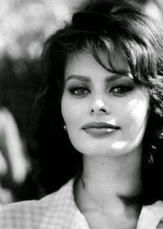 Sophia Loren I know my sources. Sophia Loren was once a source. Old Hollywood, Viejo Hollywood, Hollywood Stars, Classic Hollywood, Sophia Loren, Sophia Sophia, Carlo Ponti, Portrait Photos, Italian Actress